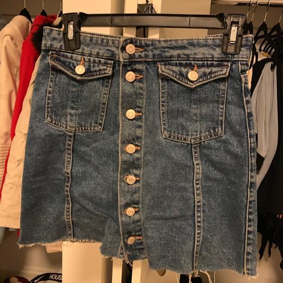 Zara Dresses & Skirts - ZARA denim skirt